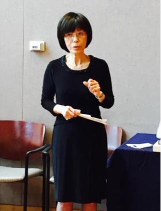 Professor Yu speaking.